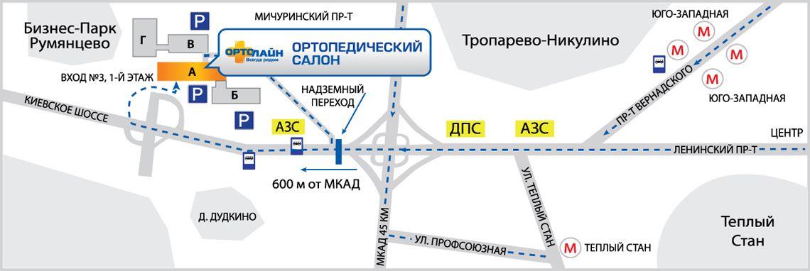 Схема проезда автобуса 788