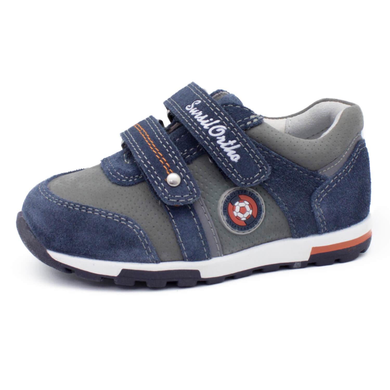 83792fda4 Детские ортопедические кроссовки Сурсил 65-123, синий/серый, Sursil ...