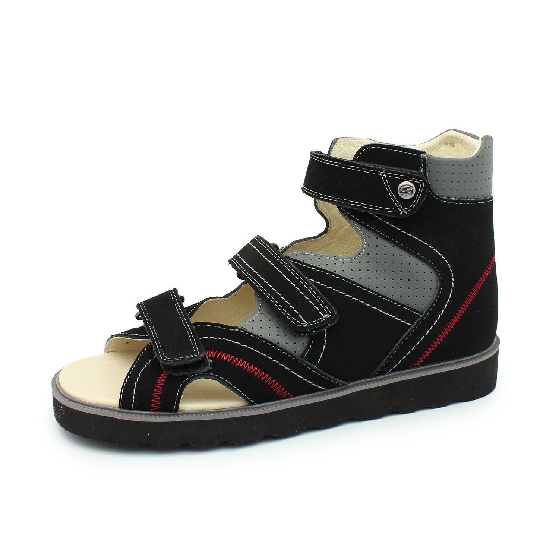 bb5c5c7de Детская ортопедическая обувь Сурсил 13-104-1, черный, Sursil-Ortho ...